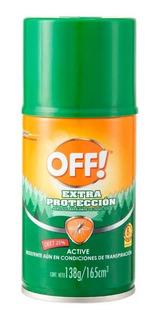Repelente De Mosquitos Off Extra Duración 165 Ml - Pack 3 U.