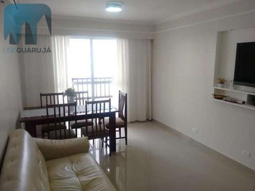 Apartamento A Venda No Bairro Centro Em Guarujá - Sp.  - 213-1