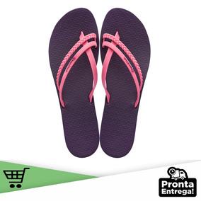 Chinelo Ipanema Mais Look (púrpura E Pink - N 35)