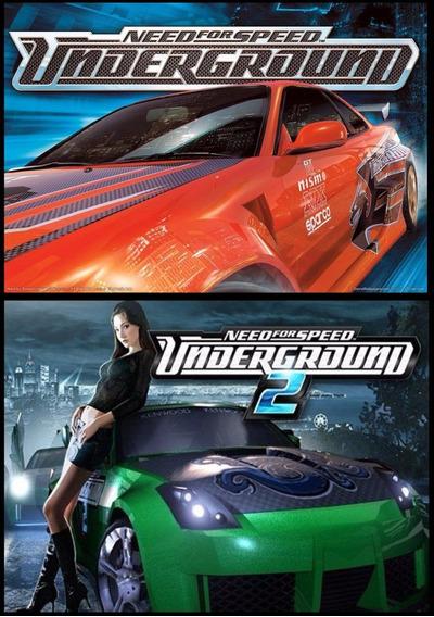 Need For Speed Underground 1 + 2 Pc (mídia Física)