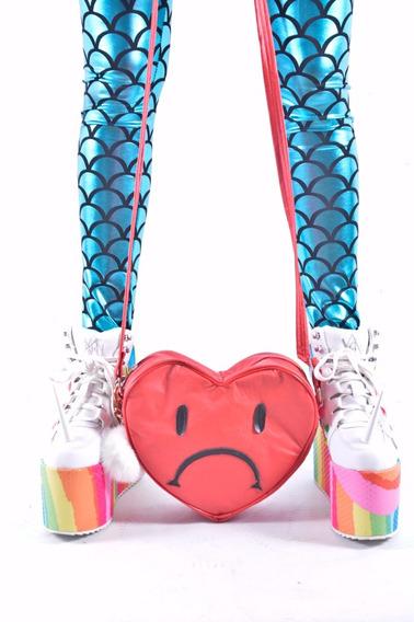 Carterita Bandolera Corazon Roto Emoji Emoticón