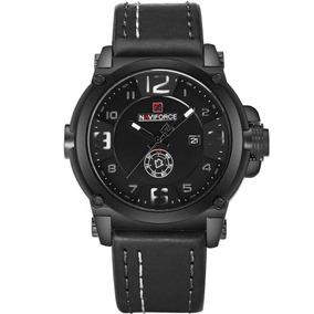 Relógio De Pulso Masculino 9099 Pb Naviforce