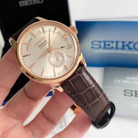 Seiko Presage Power Reserve Automático Impecável Completo