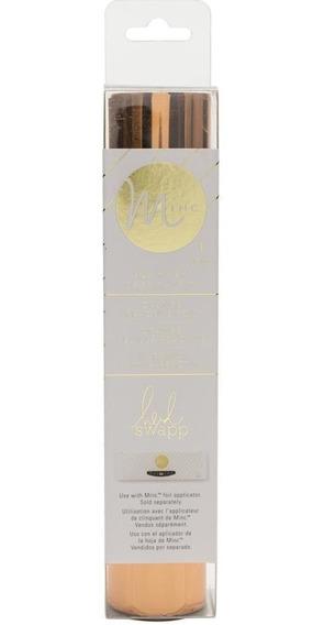 Heidi Swapp Minc Reactive Foil Roll / Lamina De Foil Naranj