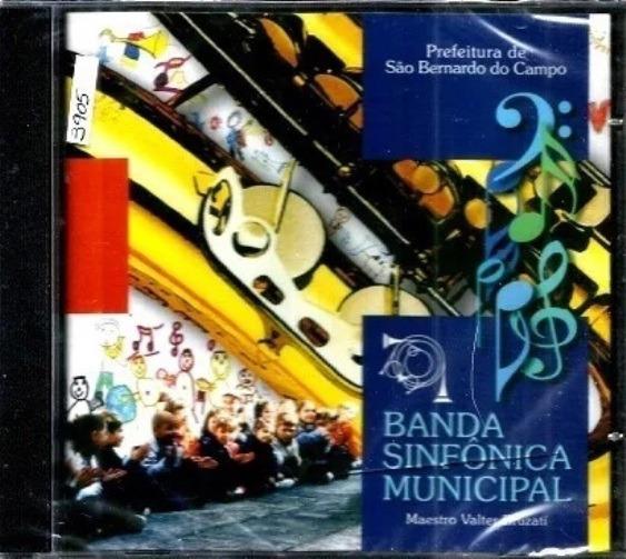 Cd / Banda Sinfônica Municipal De São Bernardo Do Campo (lac