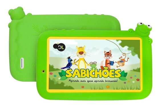 Tablet Dl Sabichões Tela 7 8gb Android C/ Wifi