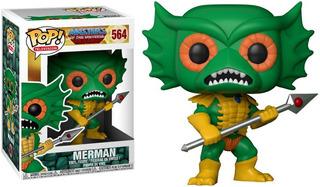 Funko Pop Merman Master Of The Universe Motu He-man 564