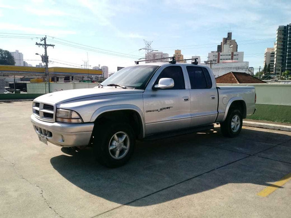 Caminhonete Pick-up Dodge Dakota Cabine Dupla Gasolina Gnv