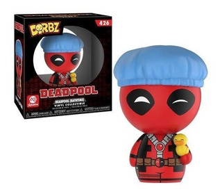 Figura Funko Dorbz Marvel Bathtime Deadpool