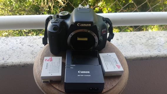 Canon 600d T3i + 2 Bats + Case Somente Corpo