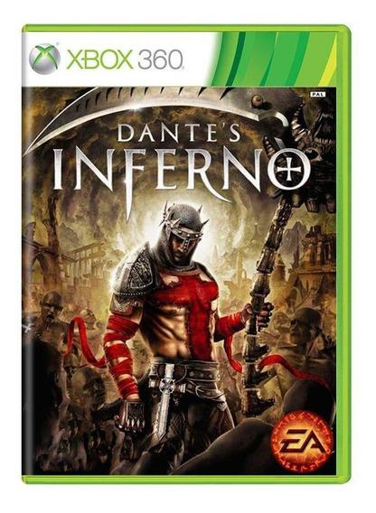 Dantes Inferno Xbox 360 Mídia Física Pronta Entrega