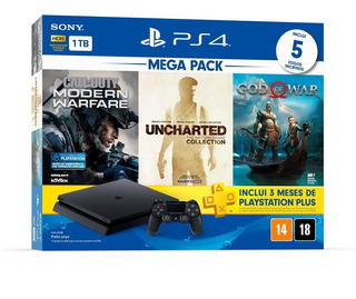Playstation 4 Mega Pack 7, Hits 7, Bundle 1tb Slim C/nfe