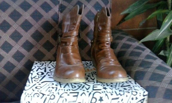 Botas Paddock Color Marrón Talle 36 Impecables