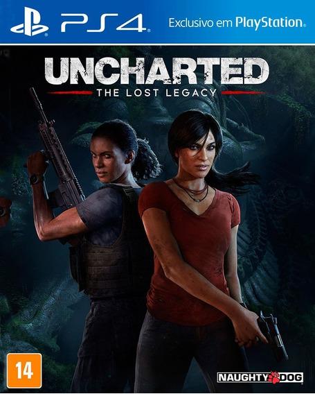 Uncharted The Lost Legacy Ps4 100% Português Físico Novo