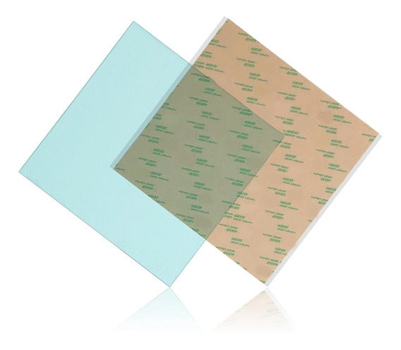 300 X 300 X 1mm Pei Folha Abs Pla Build Surface Para Impress