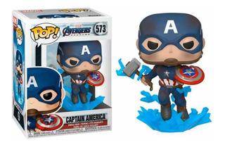 Funko Pop! Avengers: Endgame - Captain America W/ Mjoln #573