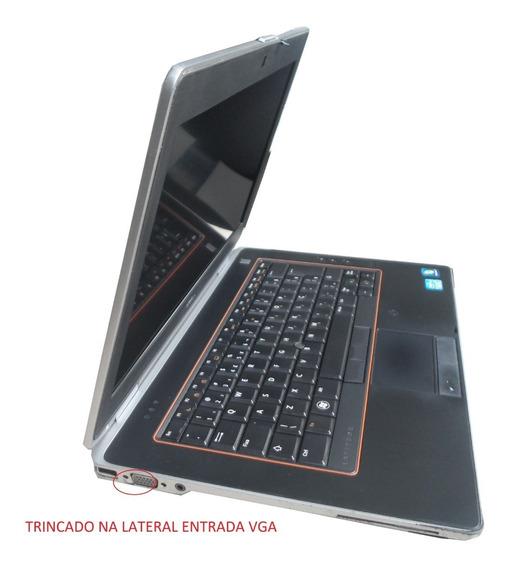 Notebook Dell Latitude E6420 Core I5 4gb Ssd 120g