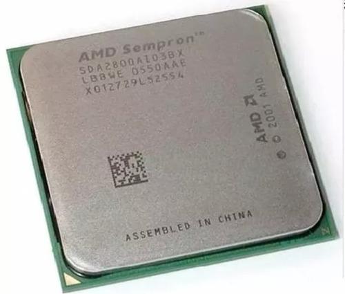 Imagem 1 de 2 de Processador Amd Sempron 2800 Socket 754 Pinos 64 Bits Usado