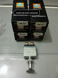 Switch Push Pull Universal 75 Amp S-101 Valley Force