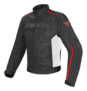 Campera Touring Dainese Hydra Flux D-dry Neg/rojo/blanco