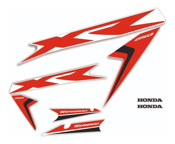 Kit Calcos - Gráfica Tornado Xr 250 2018