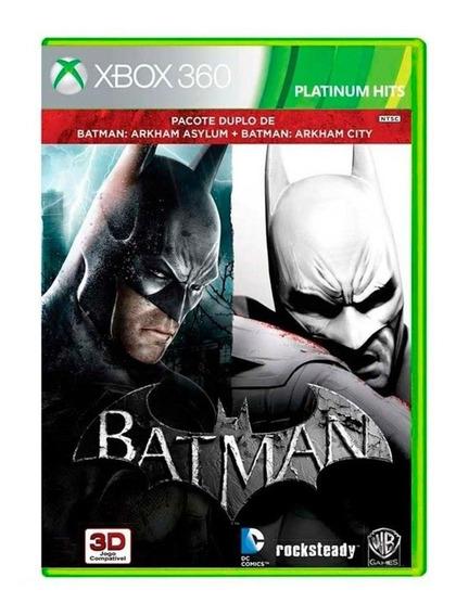 Batman Arkham Asylum + Batman Arkham City Xbox 360