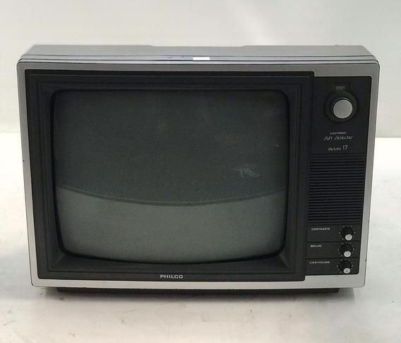 Televisor Philco Soft Selector 17 (funcionando)