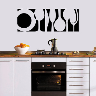 Vinil Cocina Decorativo Calcomania Rotulo Decoración