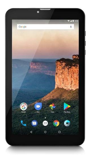 Tablet M9-3g Quad Core 8gb 9 Pol Dual Chip Nb247 Multilaser