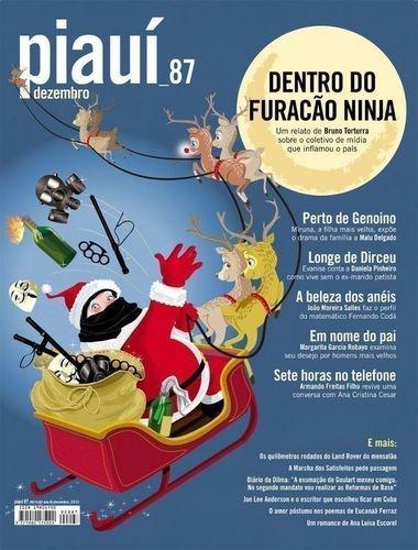 Livro Revista Piauí Nº 87 - Dezembro Piauí