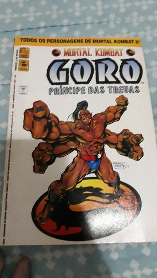 Revista Games Mortal Kombat Goro Em Quadrinhos Sub-zero