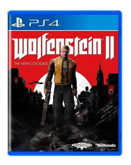 Wolfenstein Ii The New Colossus Ps4 Mídia Física