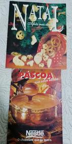Livretos Revista Nestle Antigos Receitas De Natal E Páscoa