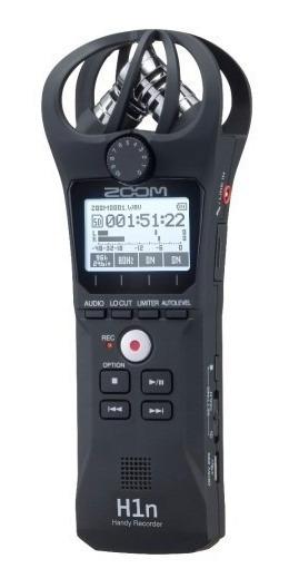 Gravador Digital Zoom H1n Profissional Stereo Recordi C/ Nfe