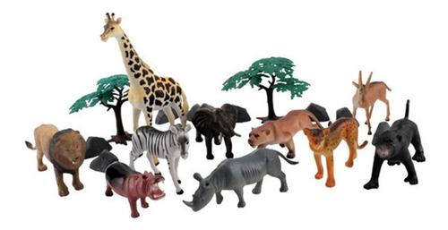 Set X 5 Animales Juguete Surtidos Juego Infantil Niños