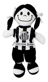 Boneca C/ Camisa Do Santos Torcida Baby Oficial + Nf Inmetro