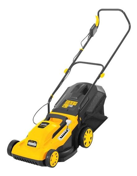 Cortador de grama elétrico Vonder MGV 1800 com saco de coleta 1800W amarelo 220V