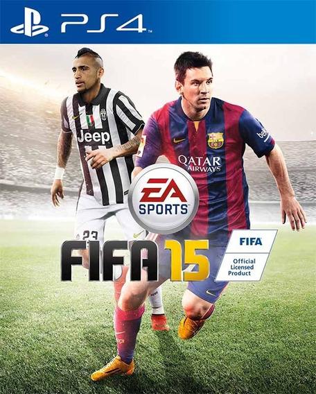 Jogo Fifa 15 Ps4 Playstation 4 Mídia Física Futebol Pronta Entrega