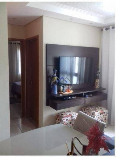 Imagem 1 de 15 de Apartamento À Venda, 44 M² Por R$ 250.000,00 - Jardim Colônia - Jundiaí/sp - Ap1743