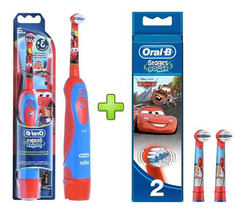 Cepillo De Dientes Eléctrico Oral-b Kids Cars + Repuesto