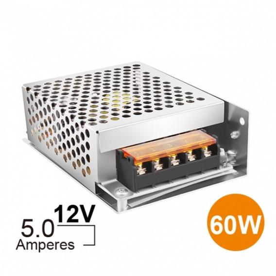 Fonte Chaveada Estabilizada 12v 5a Sc1205 - Semi