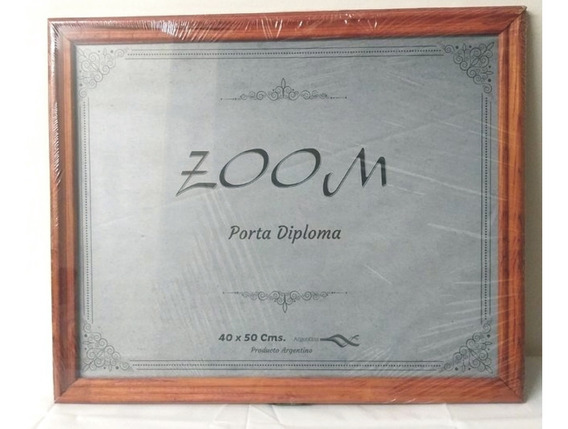 Porta Diploma Porta Retrato 40 X 50 Marco Vidrio Colgar $um