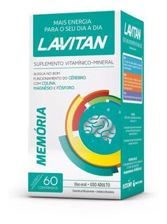 Polivitamínico Lavitan Memória(c/60) (1rc)