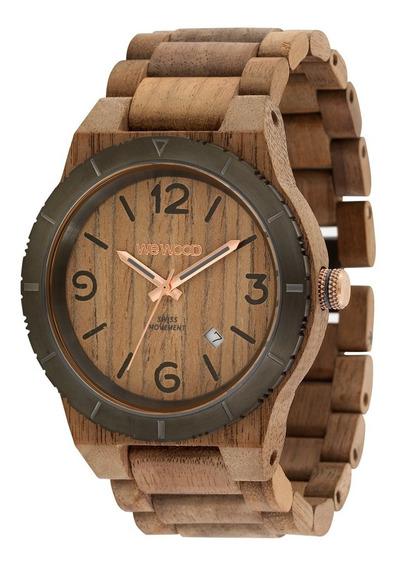 Relógio, Wewood, Alpha Mb Nut Rough Gun