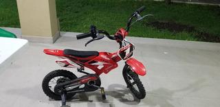 Bici Moto Cross Rodado 12. 11 Puntos Para Regalar