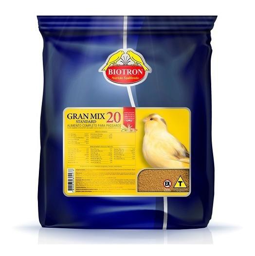 Gran Mix 20 - 5kg - Ração Extrusada Para Canários