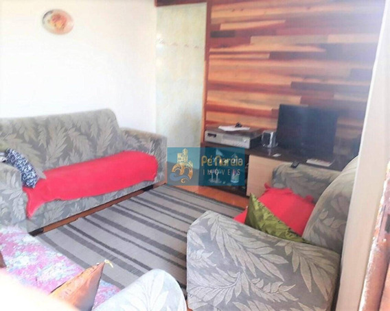 Casa Com 2 Dormitórios À Venda Por R$ 99.000,00 - Vila Sônia - Praia Grande/sp - Ca0062