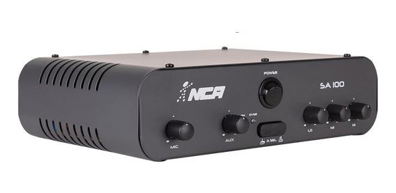 Amplificador De Som Ambiente Sa 100 - Nca