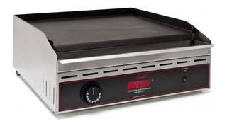 Plancha Lisa Electrica Speedy Grill C/ Termostato 40x40 Cm