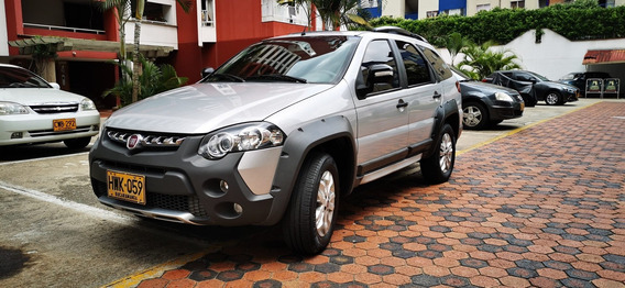 Ganga! Fiat Palio 2014 Adventure Weeknd Plata Full Papel 16v